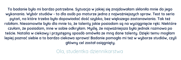 Natalia Kwiatkowska referencje