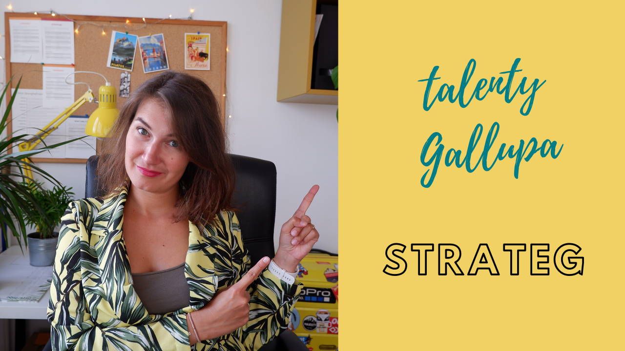 Strateg | talenty wg Gallupa